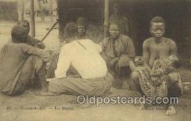 afr100402 - Congo Belge African Life Postcard Post Card