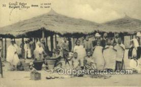 afr100405 - Congo Belge African Life Postcard Post Card