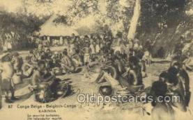 afr100409 - Congo Belge African Life Postcard Post Card