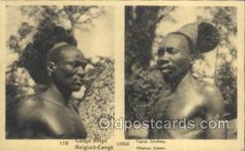afr100410 - Congo Belge African Life Postcard Post Card