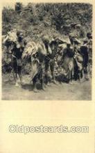afr100412 - Congo Belge African Life Postcard Post Card