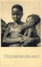 afr100413 - Congo Belge African Life Postcard Post Card