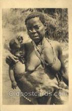 afr100415 - .Congo Francais African Life Postcard Post Card