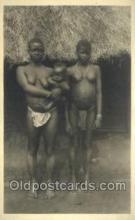 afr100416 - Congo Belge African Life Postcard Post Card