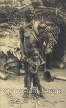 afr100421 - Congo Belge African Life Postcard Post Card