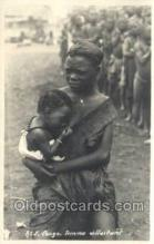 afr100425 - Congo Belge African Life Postcard Post Card