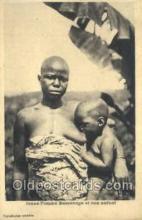afr100426 - Congo Belge African Life Postcard Post Card
