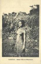 afr100428 - Lukula, Congo Belge African Life Postcard Post Card