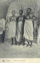 afr100429 - Congo Belge African Life Postcard Post Card