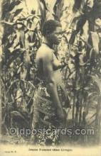 afr100430 - Congo Belge African Life Postcard Post Card