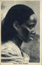 afr100448 - Costumi Africa Orientale African Life Postcard Post Card