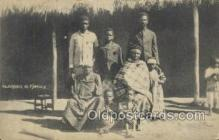 afr100450 - Njoaki & Family African Life Postcard Post Card