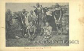 afr100461 - Masai Woman African Life Postcard Post Card