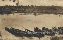 afr100467 - River Quanza African Life Postcard Post Card