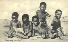 afr100483 - African Life Postcard Post Card