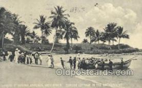 afr100495 - Batanga, Kamerun, West Africa African Life Postcard Post Card