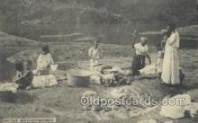 afr100497 - Native Washerwoman African Life Postcard Post Card