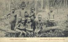 afr100502 - Chibokwe Children, Central Africa African Life Postcard Post Card