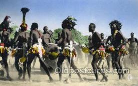 afr100509 - Region de Daba (Tchad) African Life Postcard Post Card