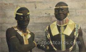 afr100522 - Saka Bonal African Life Postcard Post Card
