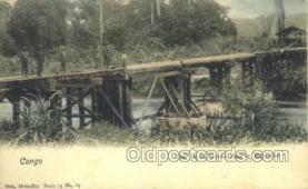 afr100525 - Congo Belge African Life Postcard Post Card