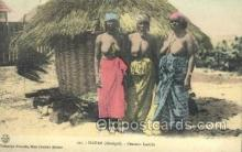 afr100532 - Dakar African Life Postcard Post Card