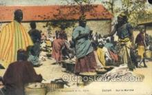 afr100540 - Dakar African Life Postcard Post Card