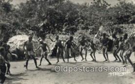 afr100548 - Oubangui Chari African Life Postcard Post Card