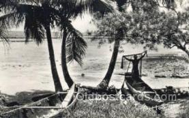 afr100550 - Libreville African Life Postcard Post Card
