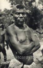 afr100572 - Oubangui Chari African Life Postcard Post Card