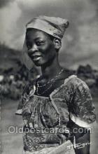 afr100578 - Jeune Fille Balali African Life Postcard Post Card