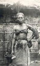 afr100584 - Danseuse Tambo African Life Postcard Post Card