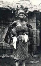 afr100589 - Danseuse Tambo African Life Postcard Post Card
