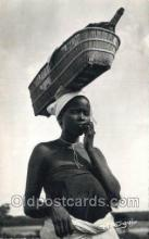afr100590 - Bassoundi African Life Postcard Post Card