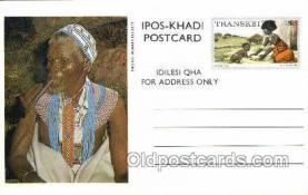 afr200002 - Transkei African Life Postcard Post Card