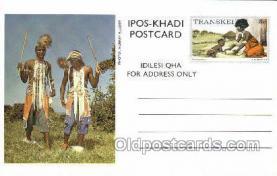 afr200004 - Transkei African Life Postcard Post Card