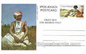 afr200005 - Transkei African Life Postcard Post Card
