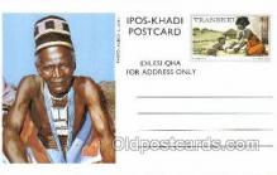 afr200008 - Transkei African Life Postcard Post Card
