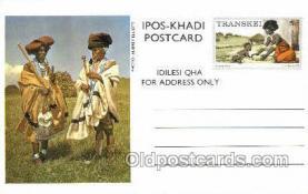 afr200009 - Transkei African Life Postcard Post Card