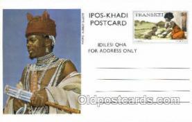 afr200010 - Transkei African Life Postcard Post Card