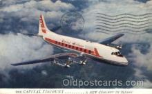 air001055 - Captital Airlines Airline, Airlines, Airplane, Airplanes, Postcard Post Card