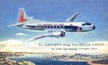 air001068 - Fly-Eastern Airlines, Silver Falcon Airline, Airlines, Airplane, Airplanes, Postcard Post Card