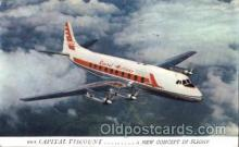 air001071 - Captital Airlines Airline, Airlines, Airplane, Airplanes, Postcard Post Card