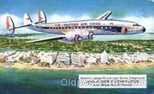 air001105 - Fly-Eastern Air Lines, Super C Airline, Airlines, Airplane, Airplanes, Postcard Post Card