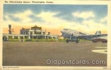 air001116 - The Philadelphia Airport, Philadelphia, Penna Airline, Airlines, Airplane, Airplanes, Postcard Post Card