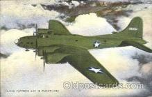 air001119 - Flying Fortress B-17 in Flight  Airline, Airlines, Airplane, Airplanes, Postcard Post Card