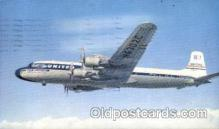 air001133 - United Airlines, DC-7 Airline, Airlines, Airplane, Airplanes, Postcard Post Card