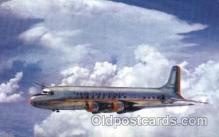 air001136 - American Airlines, DC-6 Airline, Airlines, Airplane, Airplanes, Postcard Post Card