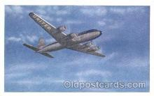 air001152 - United Airline, DC-6 Airline, Airlines, Airplane, Airplanes, Postcard Post Card