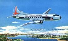 air001158 - Fly-Eastern Airlines,Silver Falcon Airline, Airlines, Airplane, Airplanes, Postcard Post Card
